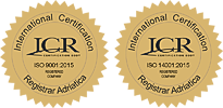 Globus Metlika ISO-9001:2015 in ISO-14001:2015